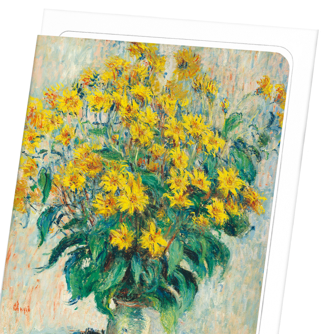 JERUSALEM ARTICHOKE FLOWERS (1880): 8xCards