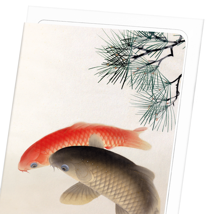 CARPS AND PINE: 8xCards