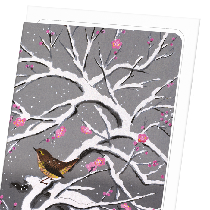 SNOW PLUM BLOSSOMS: 8xCards
