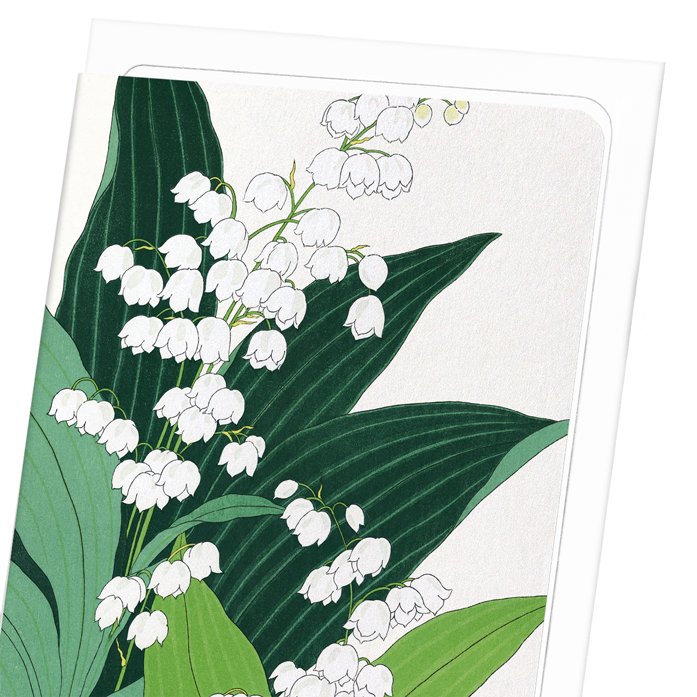 LILY OF THE VALLEY: 8xCards