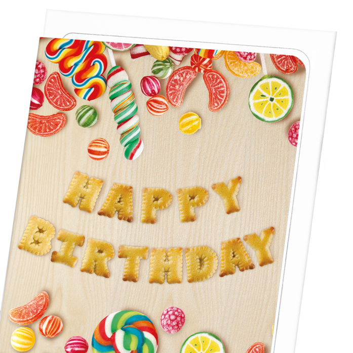 CANDY BIRTHDAY: 8xCards