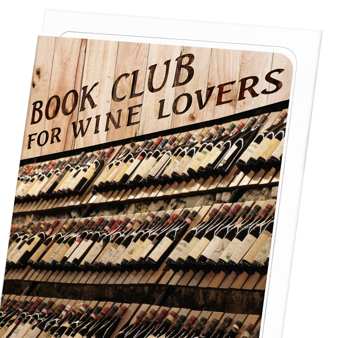 WINE LABEL BOOK CLUB: 8xCards