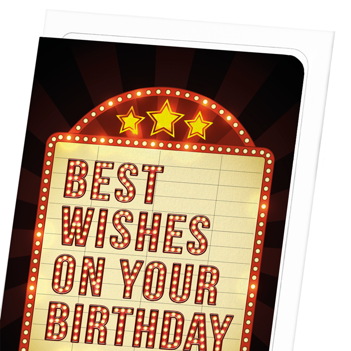 MOVIE BIRTHDAY WISHES: 8xCards