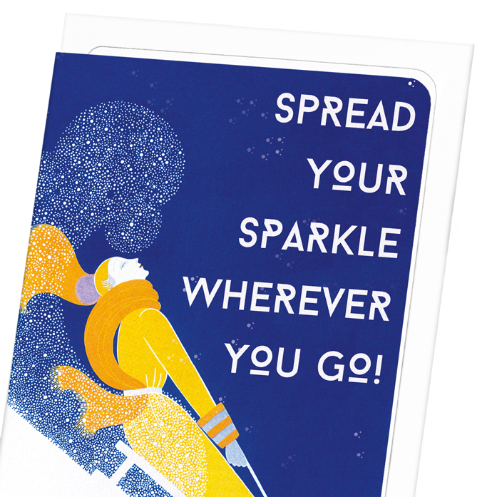 SPREAD YOUR SPARKLE: 8xCards