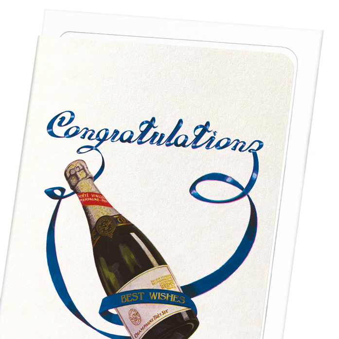 CHAMPAGNE CONGRATULATIONS: 8xCards