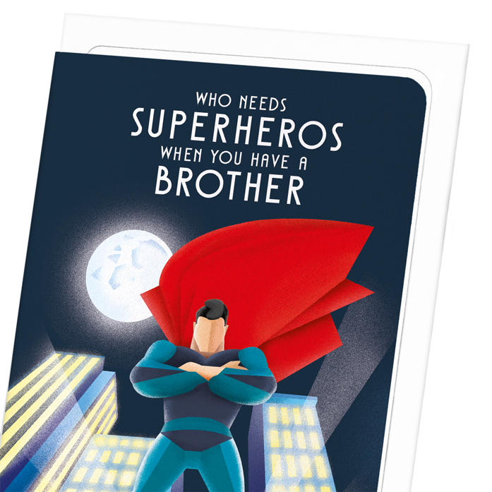 BROTHER OVER SUPERHERO: 8xCards