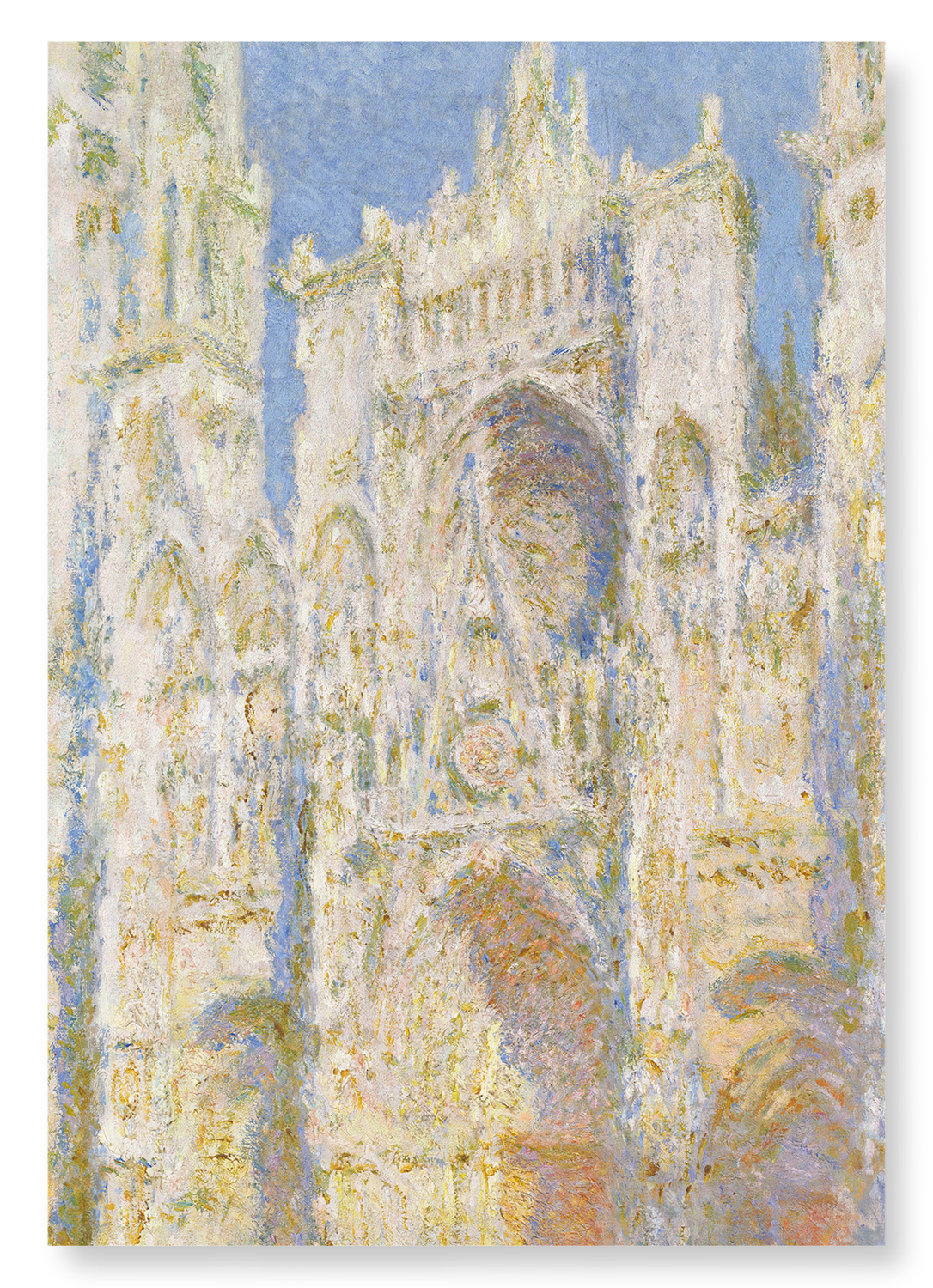 ROUEN CATHEDRAL WEST FAÇADE BY MONET: 2xPrints