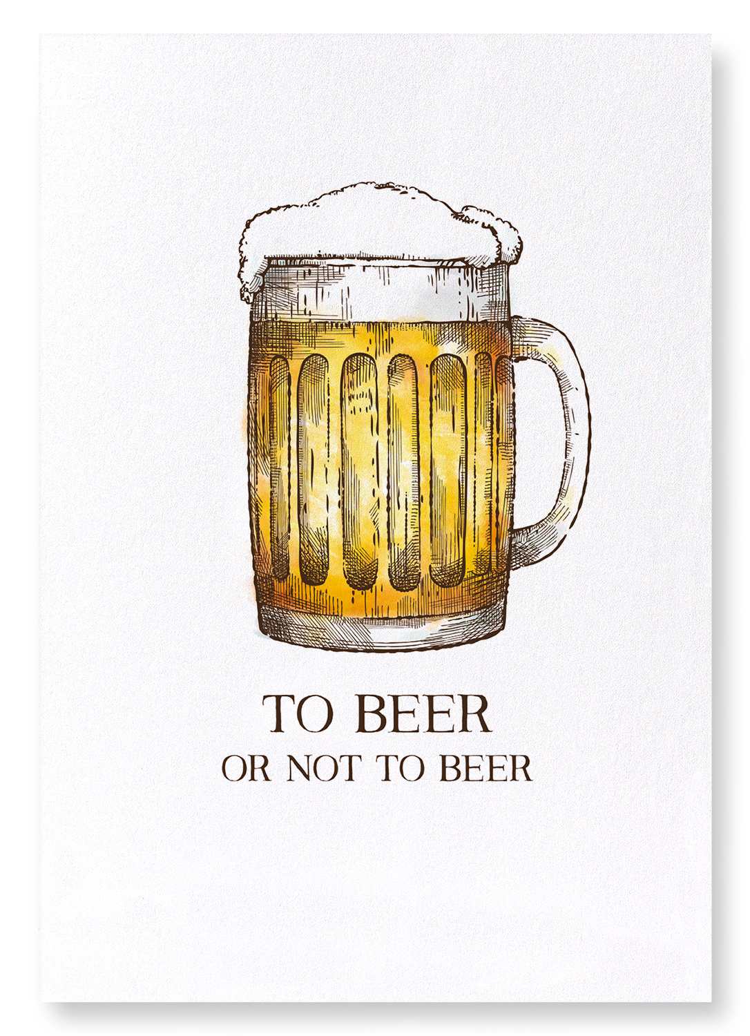 BEER OR NOT TO BEER: 2xPrints