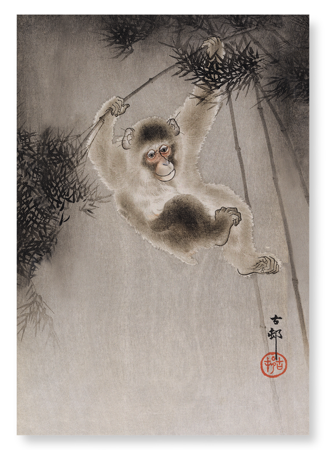 MONKEY AND BAMBOO: 2xPrints