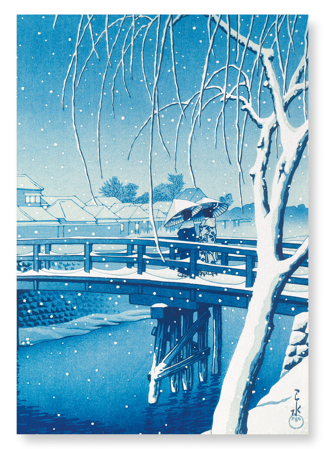 Bridge over edo river: 2xPrints