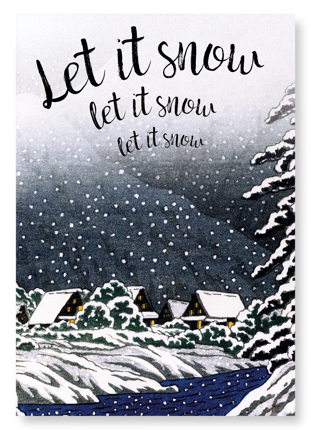 LET IT SNOW: 2xPrints