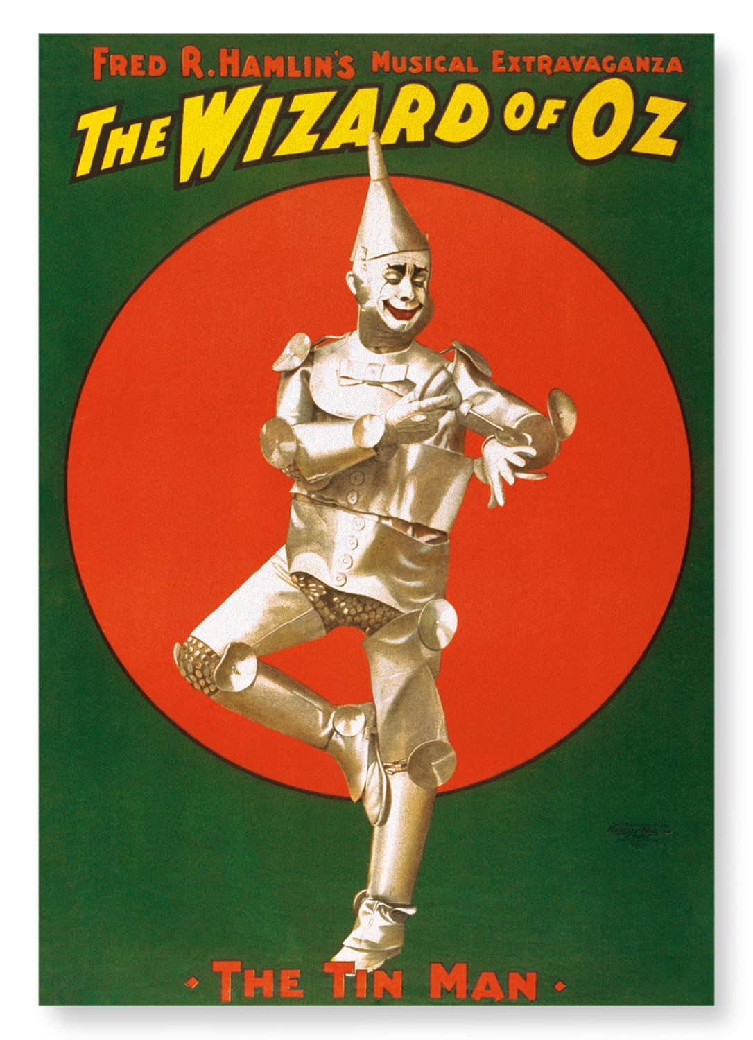 THE WIZARD OF OZ (1902): 2xPrints