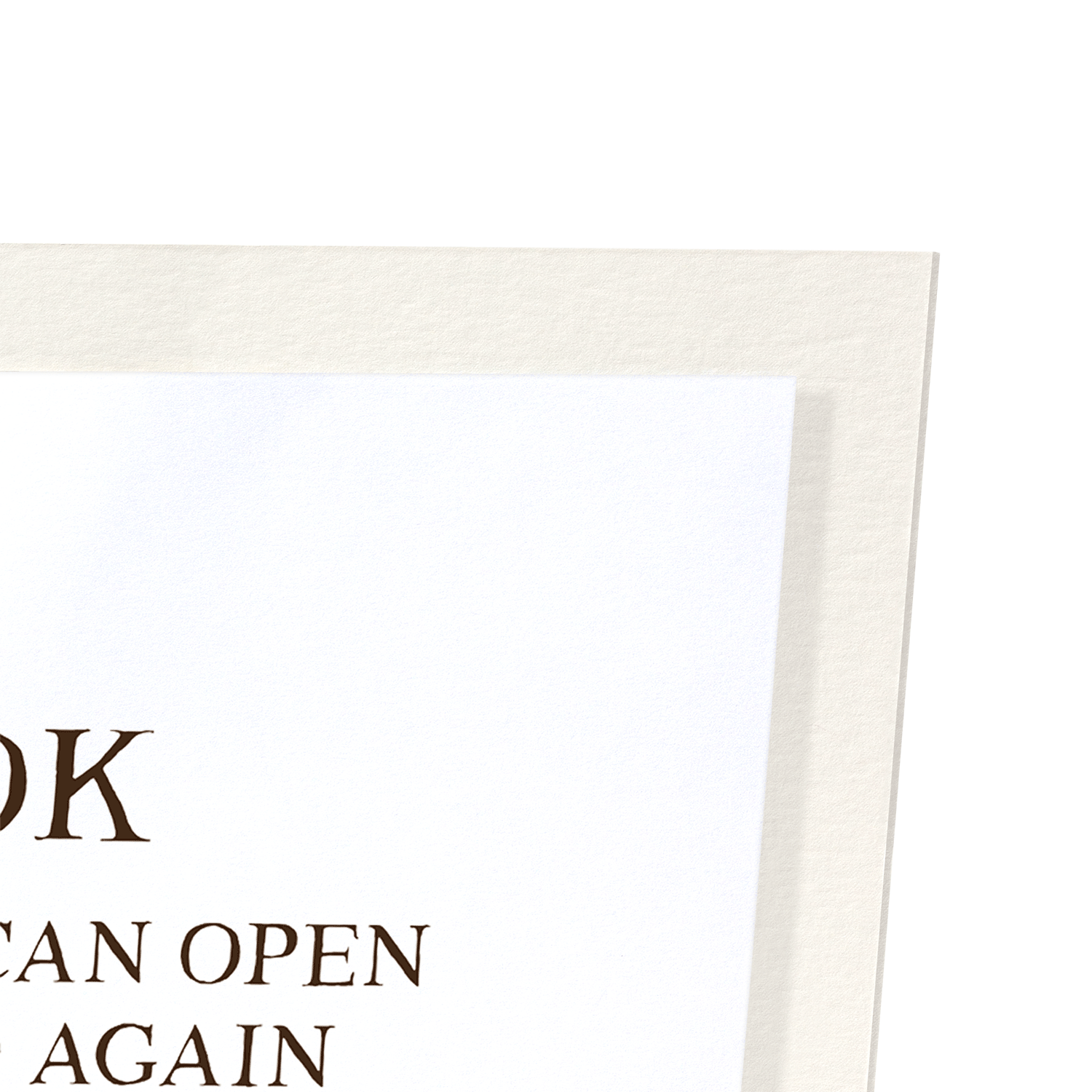 A BOOK IS A GIFT: 2xPrints