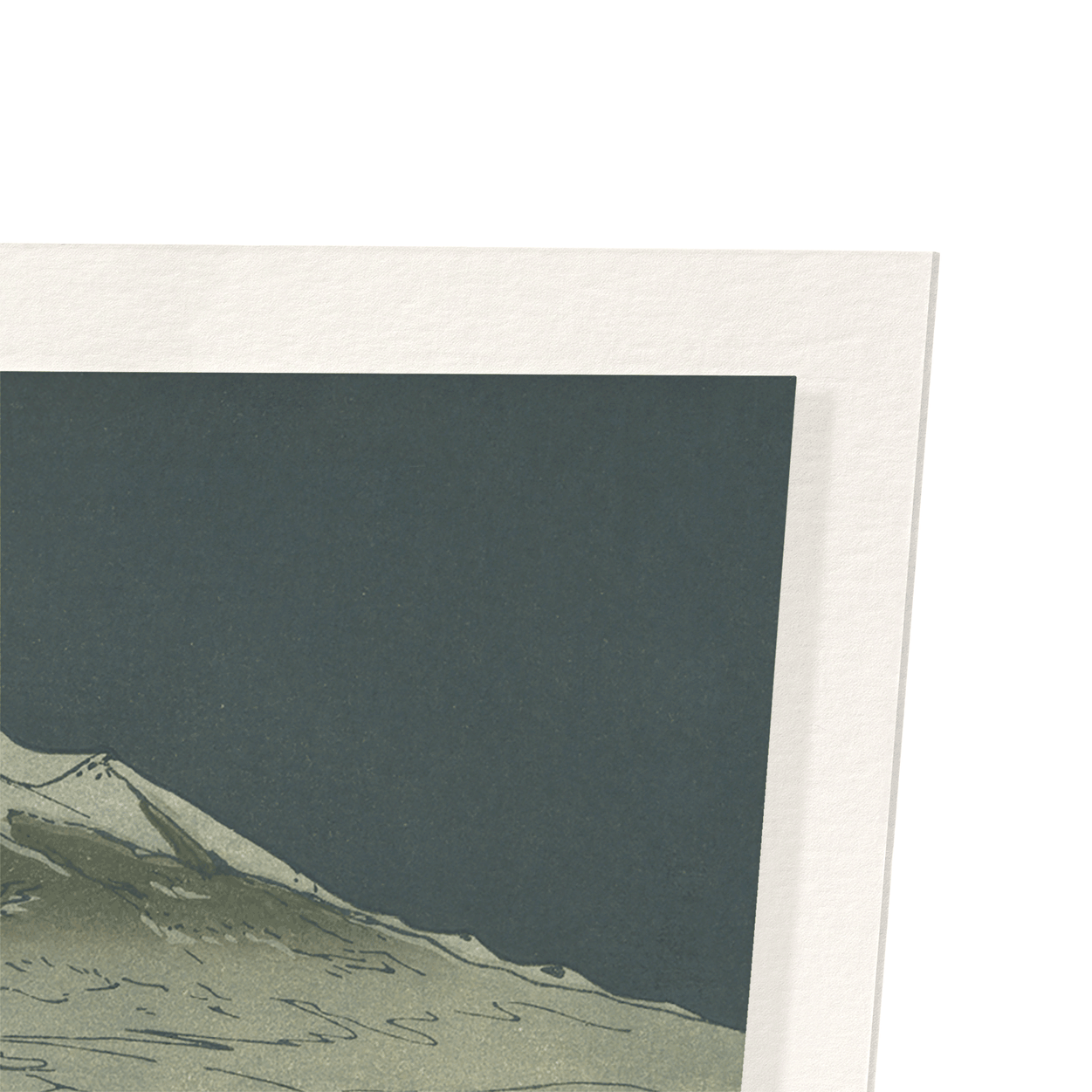 Mount fuji at nihondaira: 2xPrints
