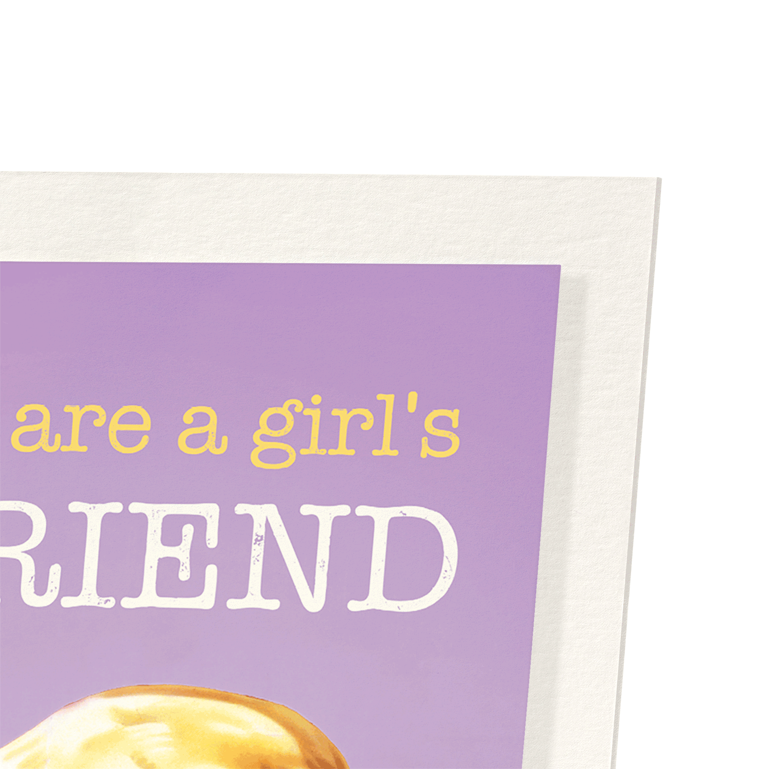 BOOKS ARE A GIRL'S BEST FRIEND: 2xPrints