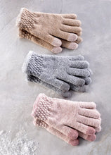 Load image into Gallery viewer, Polyester/Wool Knitted Gloves