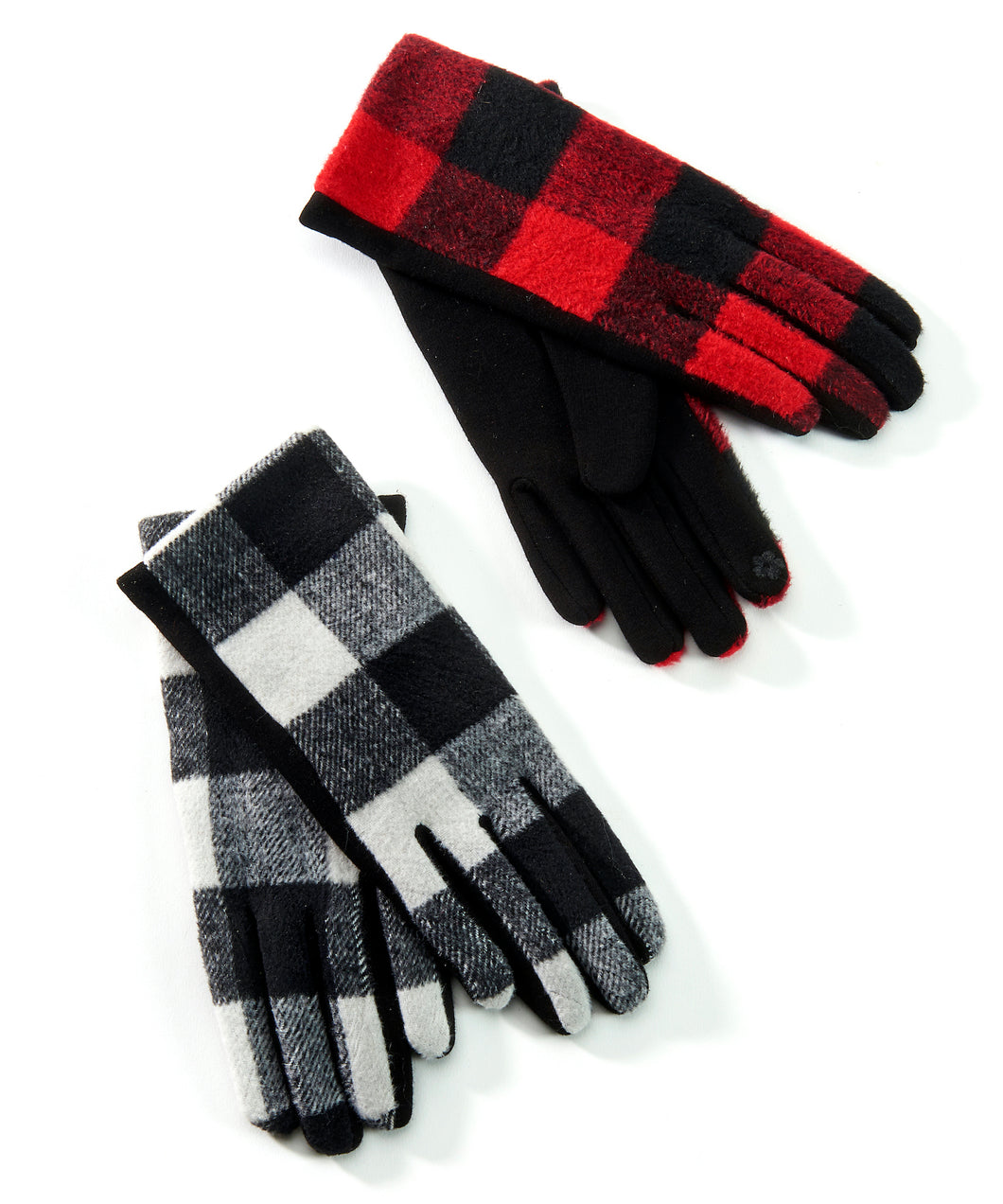 Hunter Plaid Gloves