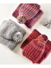 Load image into Gallery viewer, Knitted Hat & Scarf Set
