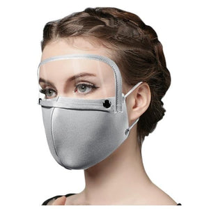 Cotton Mask with Eye Shield