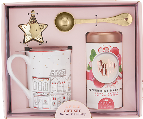 Holiday Infuser Mug, Scoop, Star & Tea Kit