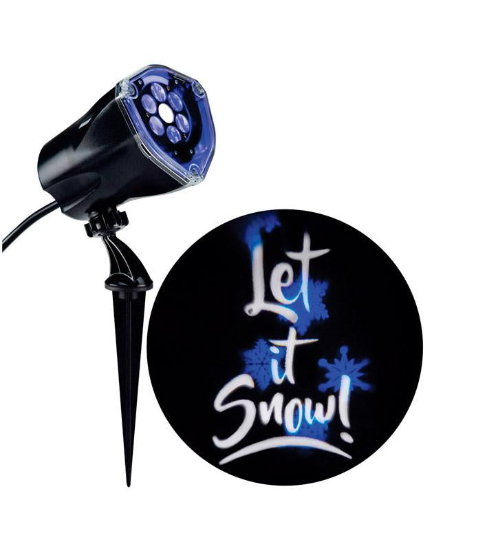 Gemmy  Whirl-A-Motion  Let It Snow  LED  Light Show Projector
