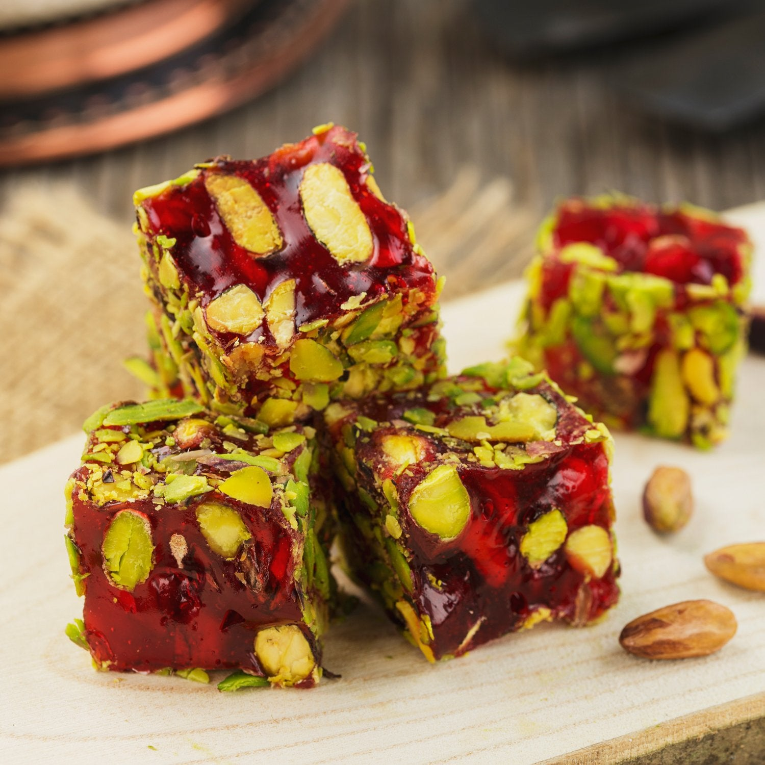Pistachio & Pomegranate Delight