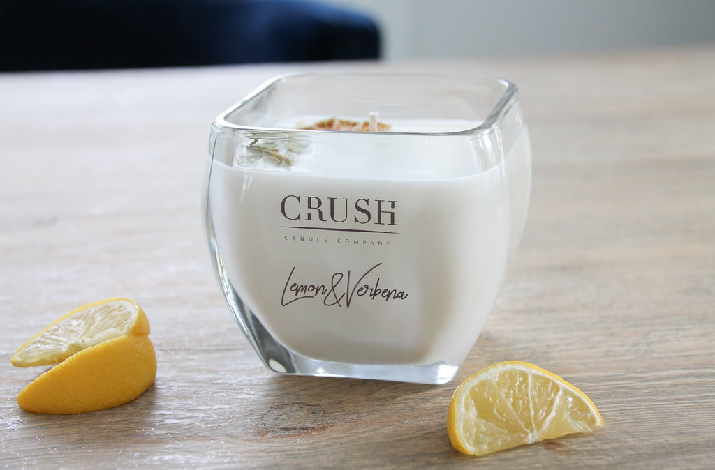 Lemon and Verbena Candle - Dried Meyer Lemon & French Verbena Leaves