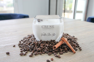 Vanilla Chai Latte Candle - Featuring Whole Dark Roast Coffee Beans