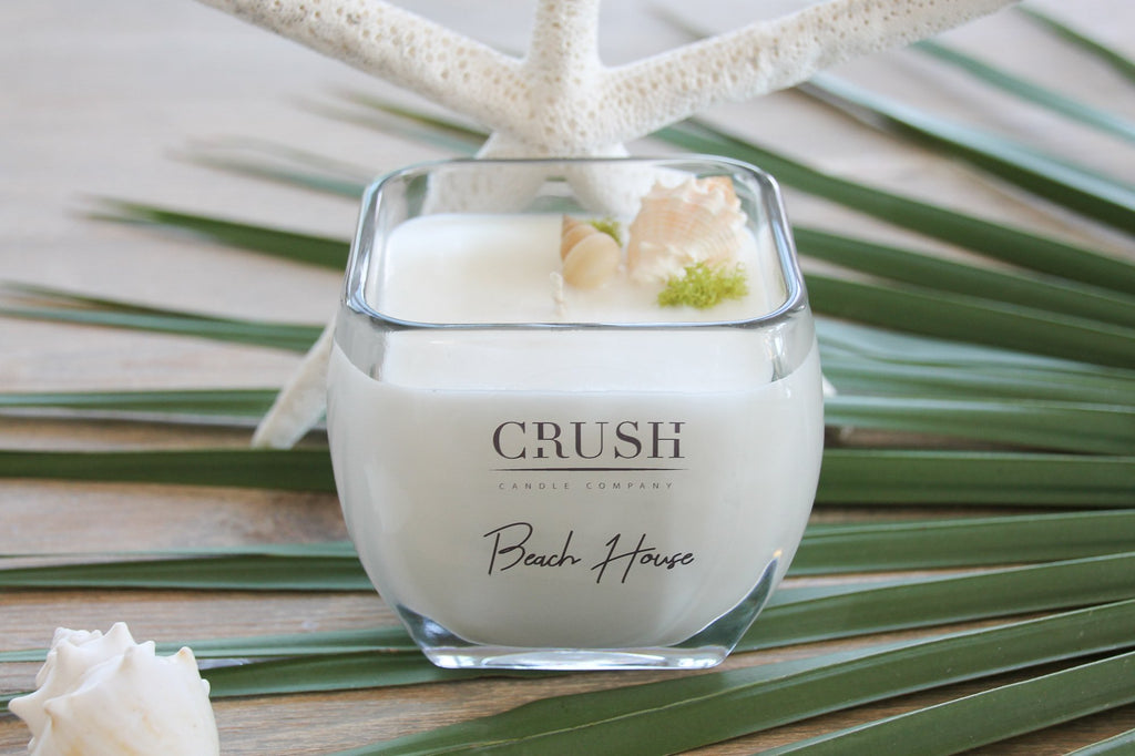 Beach House Candle - Featuring Sea Shells & Sea Moss