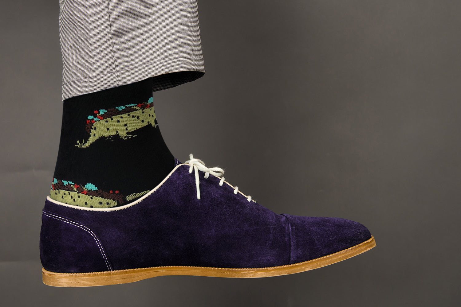Sick Socks – Tacosaurus – Exotic Animals Casual Dress Socks