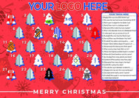 Promotional personalised scratch-off advent calendar - cpkdigital