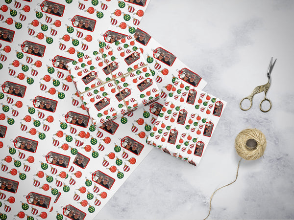 Christmas Wrapping Paper - Photo - cpkdigital