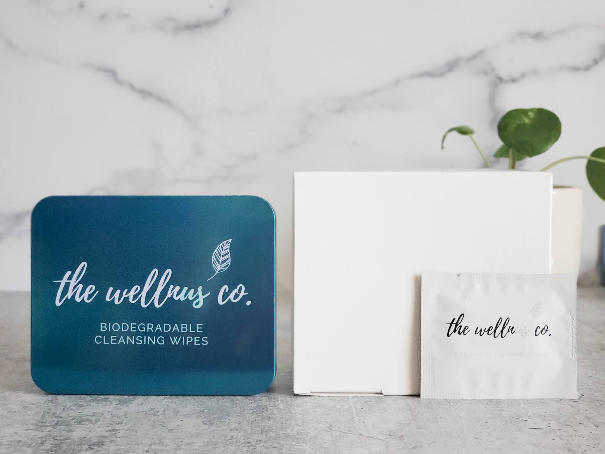 Natural Bamboo Wipes + Refills Box