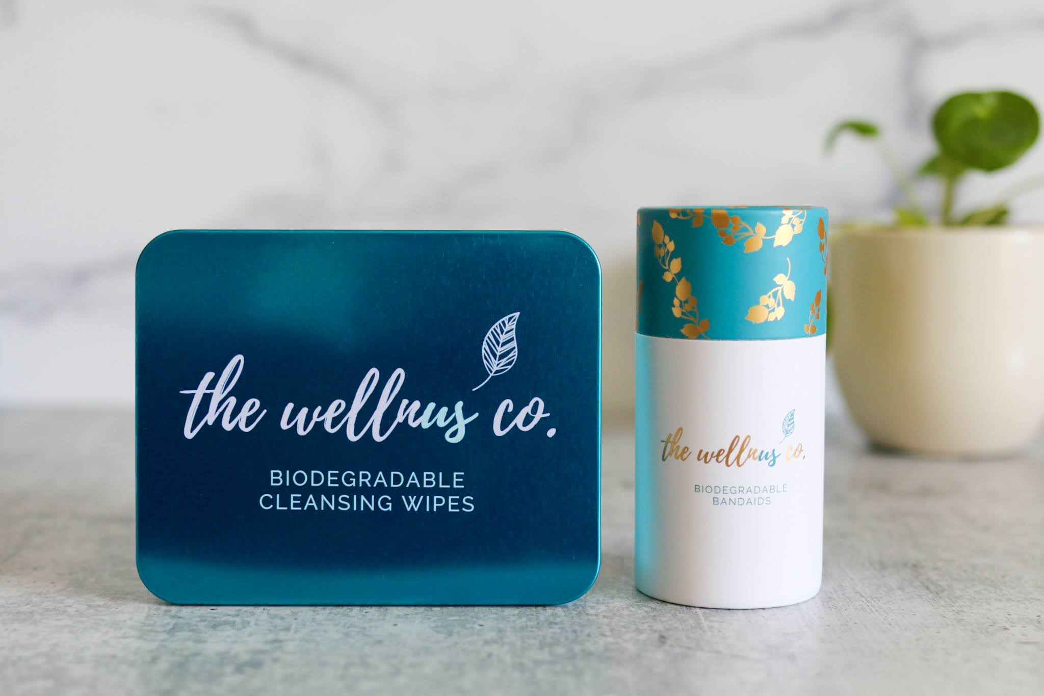 Natural Bamboo Bandaids + Cleansing Wipes