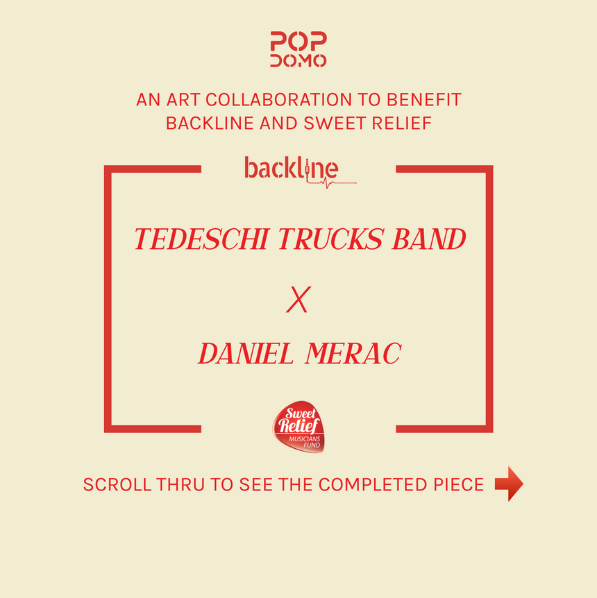 Tedeschi Trucks Band x Daniel Merac: Art Collab