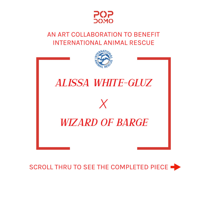 Alissa White-Gluz x Wizard of Barge Art Collab