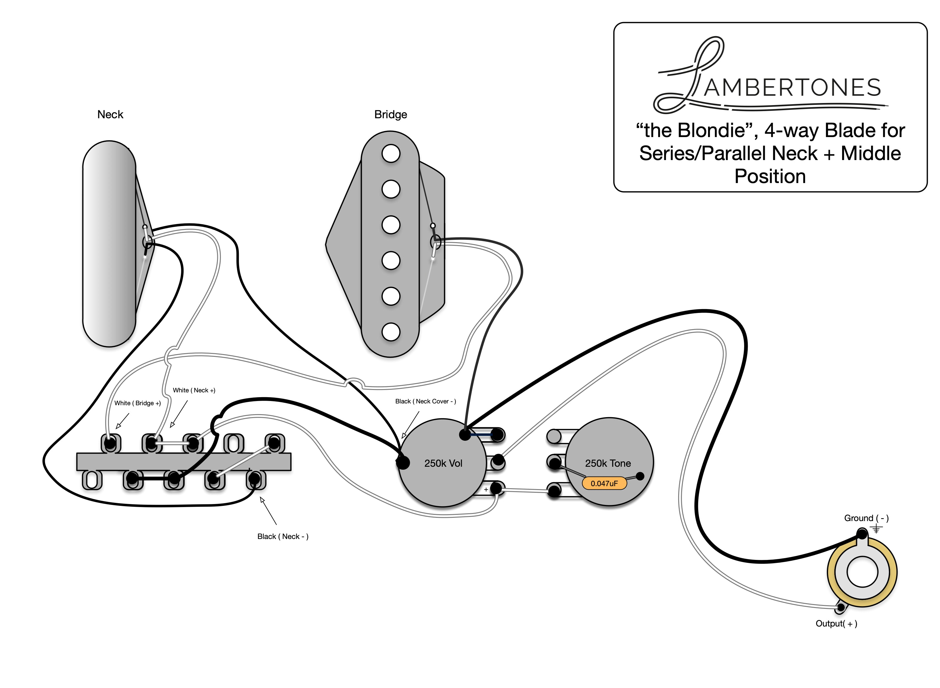 4 Way Switch Wiring Diagram Telecaster / Telecaster 4 Way
