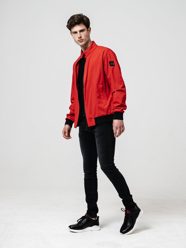 Basic Summer Jacket | Red