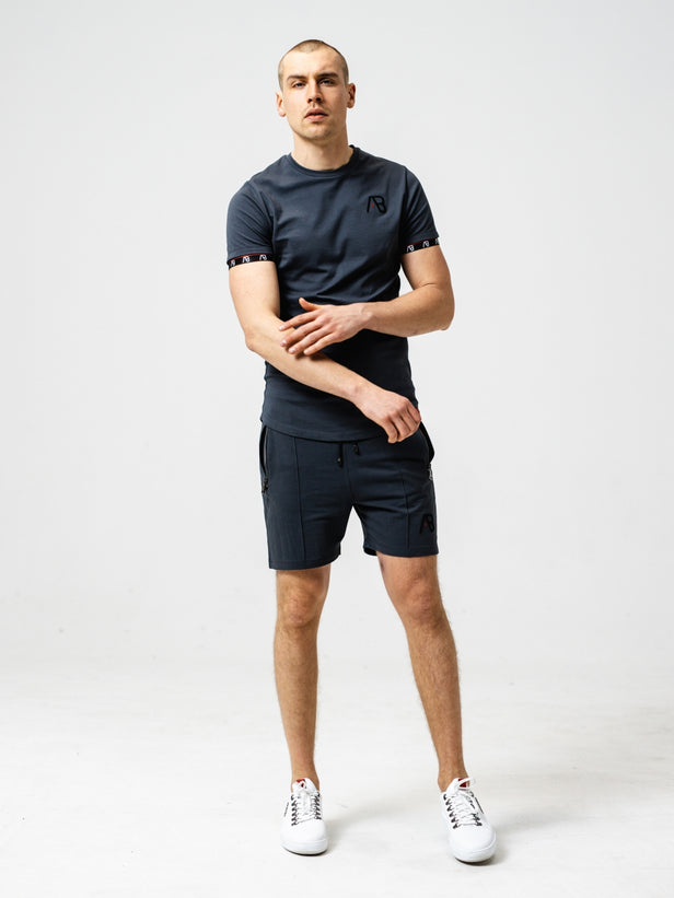 Flag Shorts | Phantom Grey