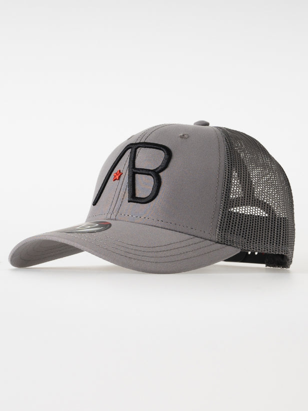 Retro Trucker Cap 2Tone | Grey/Dark Grey