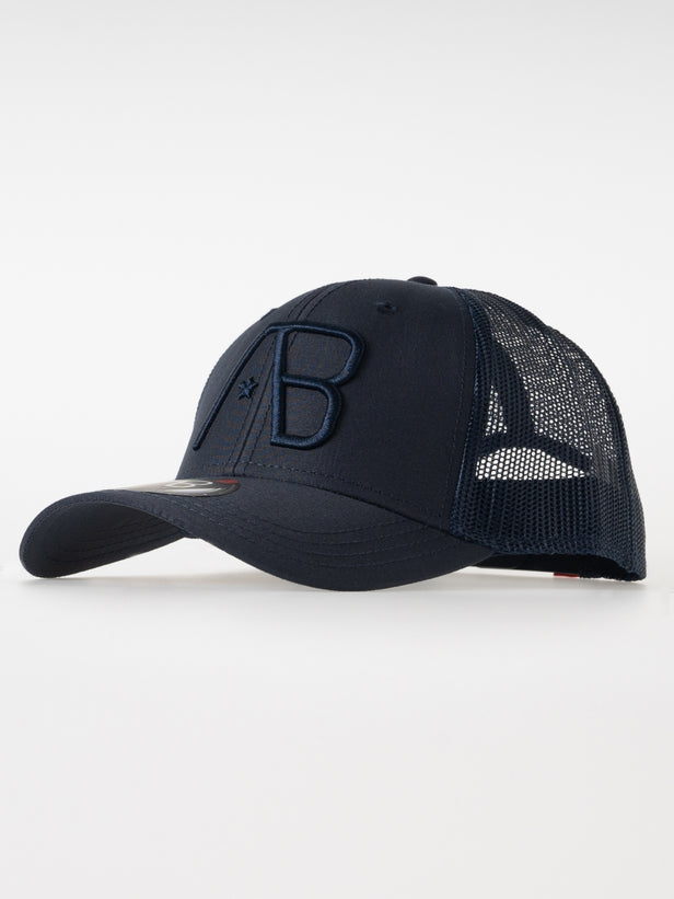 Retro Trucker Cap | Navy