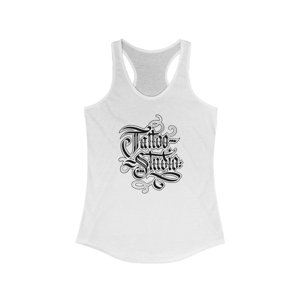 Women's Tattoo Studio Hand-Letter Tank