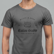Load image into Gallery viewer, Black & Gray T-Shirt