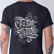 Load image into Gallery viewer, Tattoo Studio Hand-Letter T-Shirt