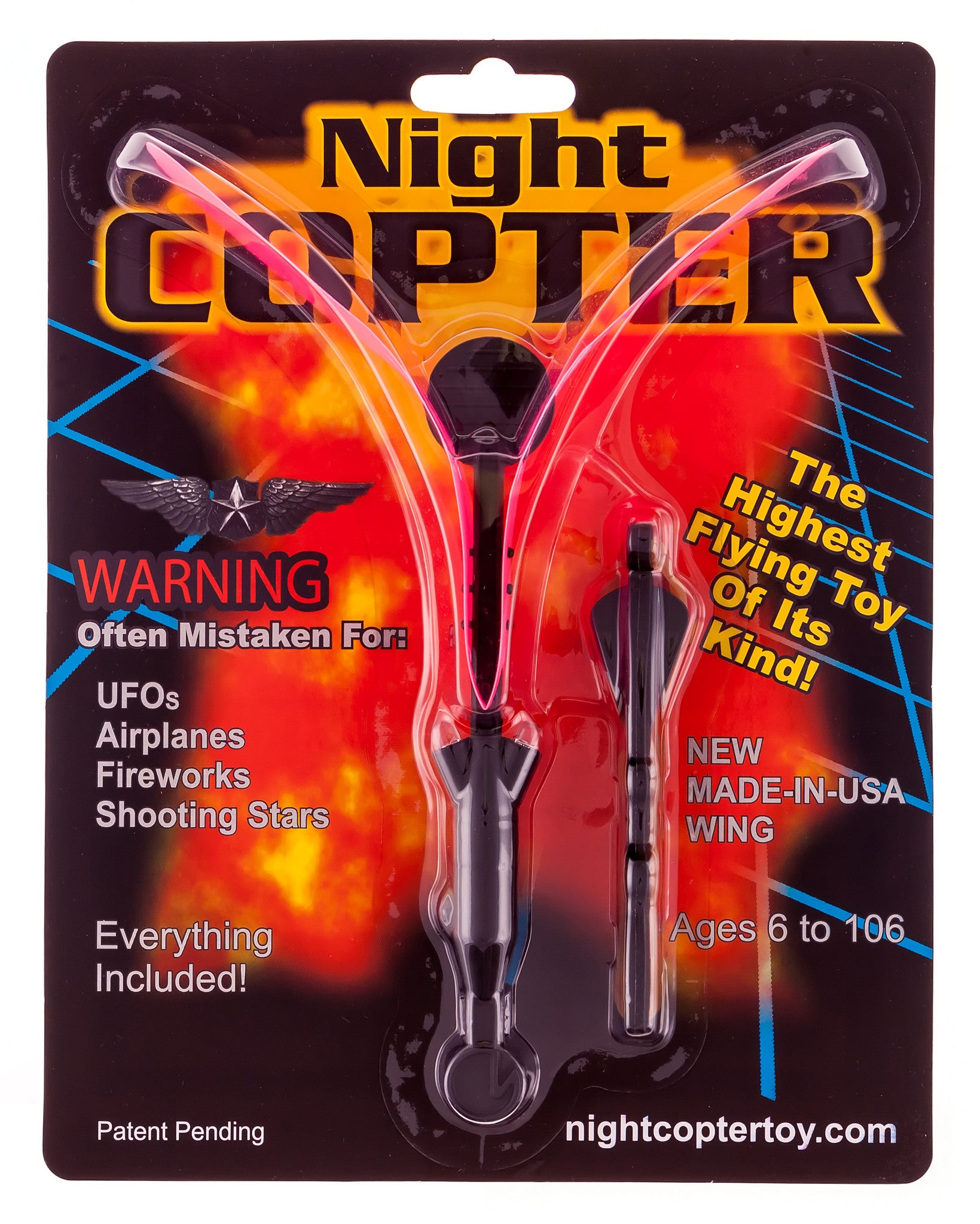Night Copter Toy