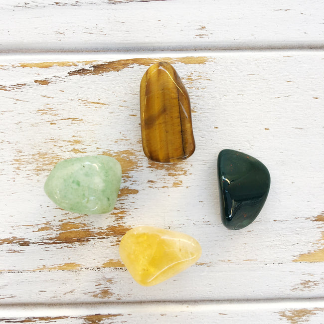 Success (Aventurine, Bloodstone, Citrine & Tiger Eye)