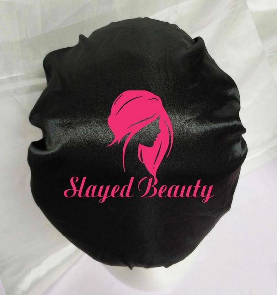 Double Layer Silk Bonnet