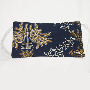 Batik Cloth Mask - Paddy