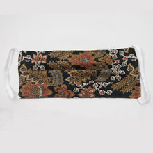 Load image into Gallery viewer, Batik Cloth Mask - Floral Leaves