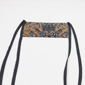 Adjustable Batik Cloth Mask - Cloud Leaves